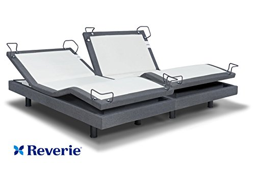 reverie 7s adjustable bed from the makers of the tempurpedic ergo w bluetooth option split king - Tempurpedic Adjustable Bed Frame