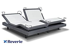 reverie 7s adjustable bed from the makers of the tempurpedic ergo w bluetooth option split cal king - Tempurpedic Adjustable Bed Frame