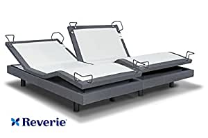 Reverie 7S Adjustable Bed From The Makers Of The Tempurpedic Ergo W/ Bluetooth Option (Split King)