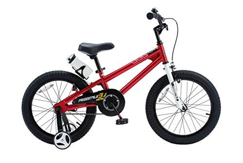 RoyalBaby BMX Freestyle Kids Bike, Boy's Bikes and Girl's Bikes (Knobby Training)