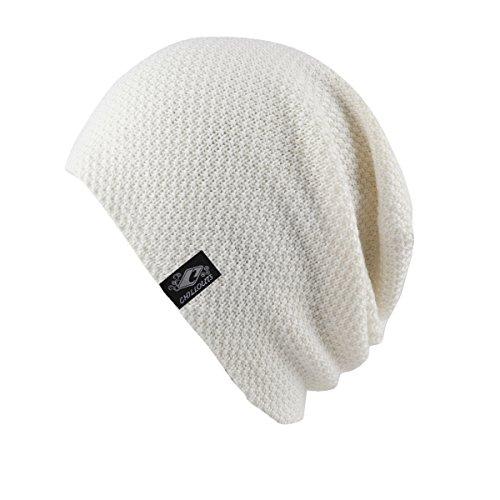talla CHILLOUTS blanco blanco única Talla gris Osaka gris Gorro gc1wrcXzZ