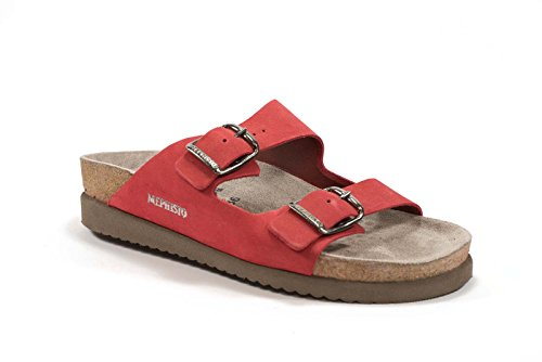 Red Sandali Brown Dark Abqwdx Mephisto Donna Havila 6051 Sandalbuck 4LA5Rj3