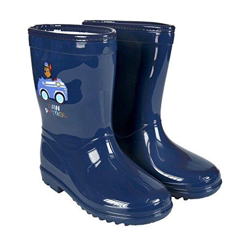 diseño de moda materiales superiores ventas al por mayor Patrulla Canina Botas de Agua Color Azul Marino con Forro Interior,  Katiuskas Niño Paw Patrol Water Boots Durable Modelando - www.nbyshop.top