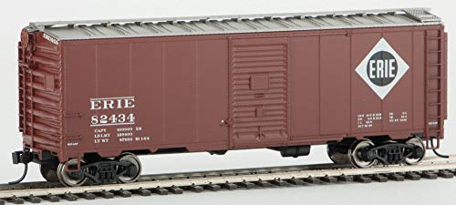 Walthers HO Scale 40' AAR 1948 Boxcar Erie Railroad (Boxcar Red) #82434