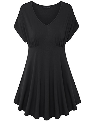 Vinmatto Womens Short Sleeve Pleated product image