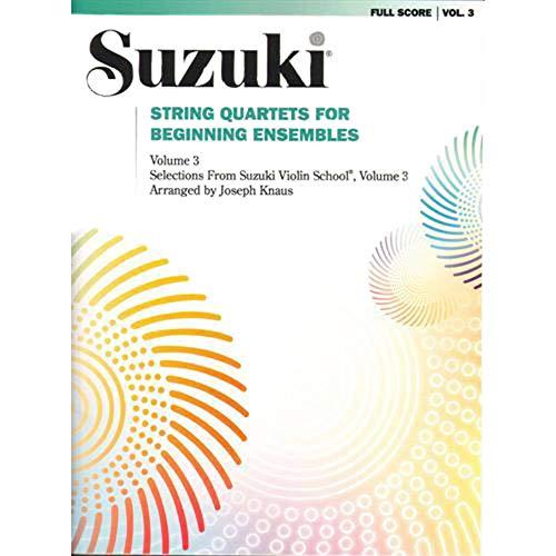 Ensembles String Beginning Quartets - String Quartets for Beginning Ensembles, Vol 3