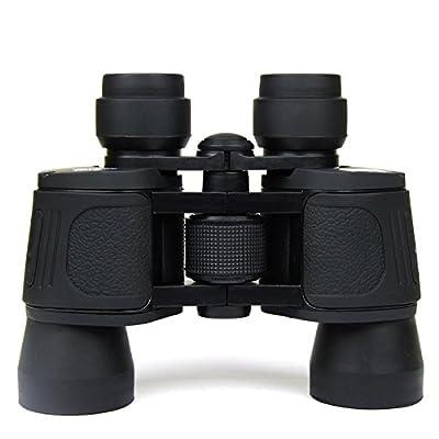 WH 8X40 Lunettes à Double Bacon Haute Puissance Télescope Optique à Haute Définition Télescope D'Alpinisme Portable Noir