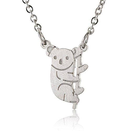 HUAN XUN Koala Teddy Bear Friendship Necklace - Summer Beach Travel Jewelry 16