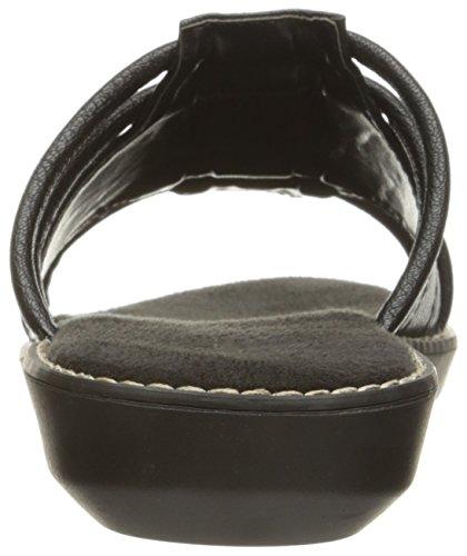 Aerosoler Kvinners Super Kul Lysbildet Sandal Sort