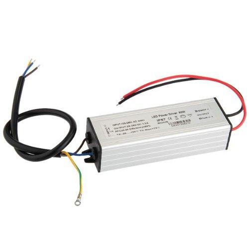 Wasserdicht IP67 50W LED Trafo treiber Transformator Driver DC30-36V 1500MA