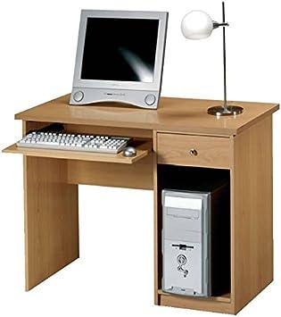 Mesa de estudio color Nogal, Montada pensada para mesa de ...