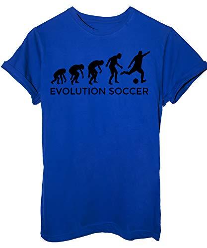 T Royal Image Soccer shirt By Blu Calcio Sport Evolution Evoluzione Hdwgqdz4