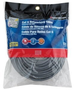 Monster Cat 6 Networking Cable 100 Ft. ()