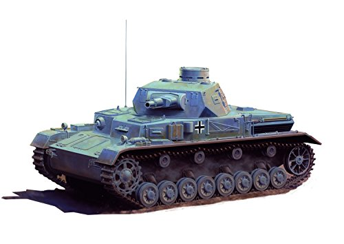 Dragon Models 1/35 Pz.Kpfw.IV Ausf.A Up-Armored Version Military Vehicle Kit