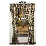 Mossy Oak Break-Up Infinity Camouflage Drapery Panels, 84-Inch Long, Set of 2