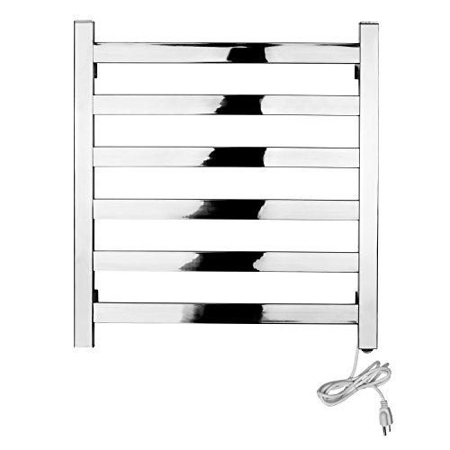 MAYKKE Sundown 90W Electric Towel Warmer and Drying Rack, Wall Mountable Bathroom Towel Rack UL Certified, XDB1030101