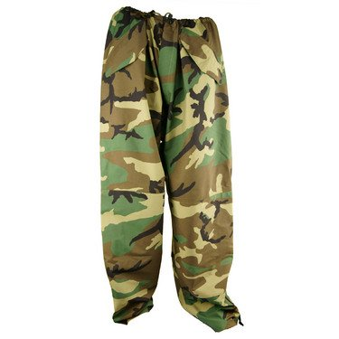 General Issue ECWCS GORE-TEX Trouser wet weather, Woodland Camo, Size X-Large / Regular