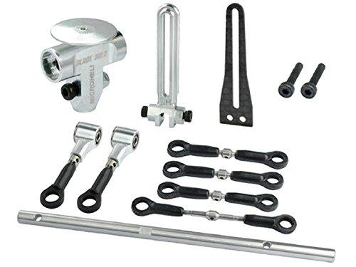 Microheli Precision CNC Aluminum DFC Head (Short) set - BLADE (Precision Cnc Aluminum Head)