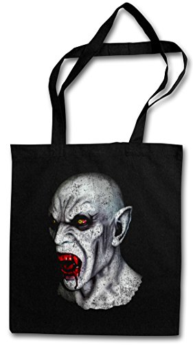 VAMPIRE HEAD HIPSTER BAG - Sangue Vampiro True Bite Teeth Jaws Blood Dracula Blood Count Bat Horror Hammer Creature Studios Nosferatu