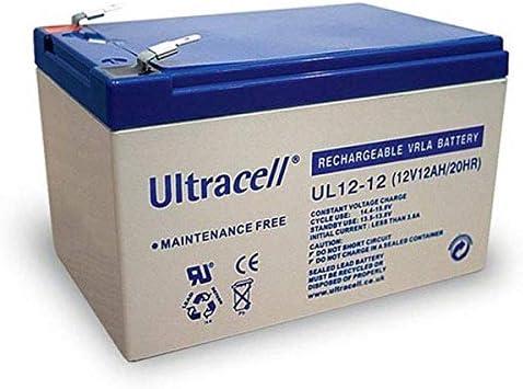 Batterie plomb AGM S 12V 12Ah FR 12V 12Ah T2
