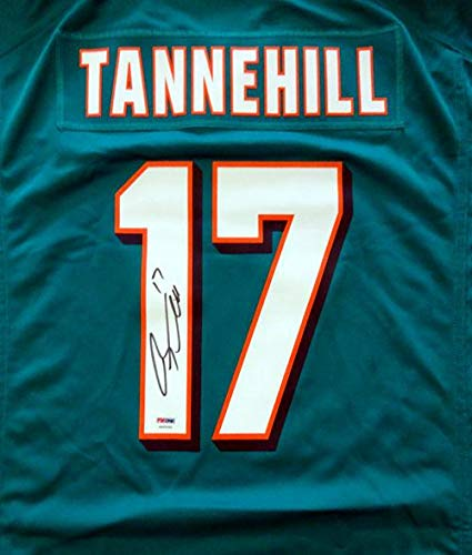 Jersey Authentic (Ryan Tannehill Signed Jersey - Teal Nike Size XL Stock #46532 - PSA/DNA Certified - Autographed NFL Jerseys)