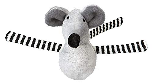 Trixie 24 Shaky bobo mice, plush