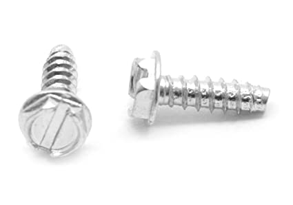 #6 x 3//4 Wood Screw Slotted Round Head Low Carbon Steel Zinc Plated Pk 100