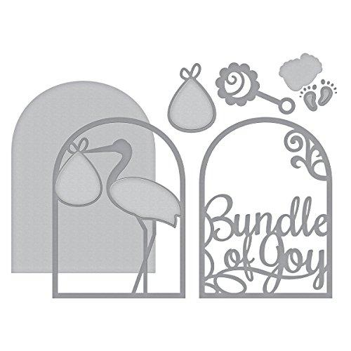 Spellbinders Shapeabilities Layered Bundle of Joy Etched/Wafer Thin Die - Die Bundle
