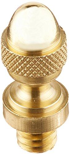 Deltana DSAT3 Solid Brass Acorn Tip (Solid Brass Hinge Acorn Finial)