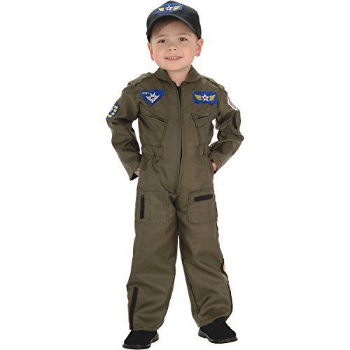 Air Force Fighter Pilot Child Costume - Toddler (Fighter Pilot Costume For Kids)