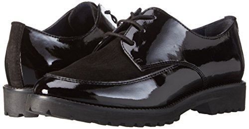 Black 23206 black Women's 001 Oxfords Tamaris wYICt5xwq