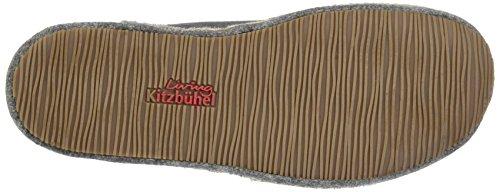 Living Kitzbühel Pantoffel Flex Uni Herren Flache Hausschuhe Grau (grau 610)