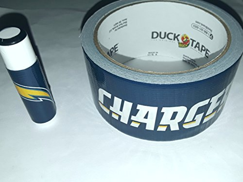 25 San Diego Chargers NFL Chap Stick Lip Balm twenty five pack pieces BULK by In a Sticky Situation