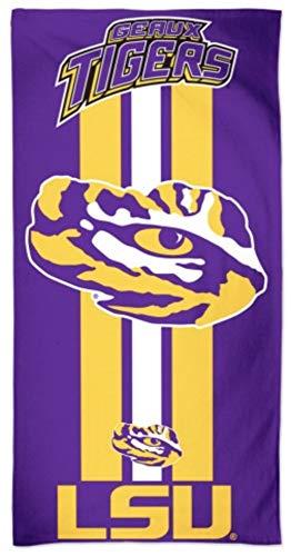 Wincraft R1010BEFR13 30 x 60 - Louisiana State LSU, Beach Towel