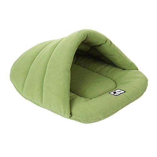 Pet Soft Warm Bed Polar Fleece Knnel House Puppy Dog Plush C