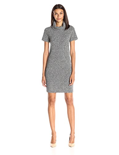 Lark & Ro Women's Cowlneck Knit Dress