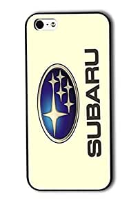 Tomhousomick Case Cover for iPhone 5 5S Fashionable Subaru Logo Cool Car