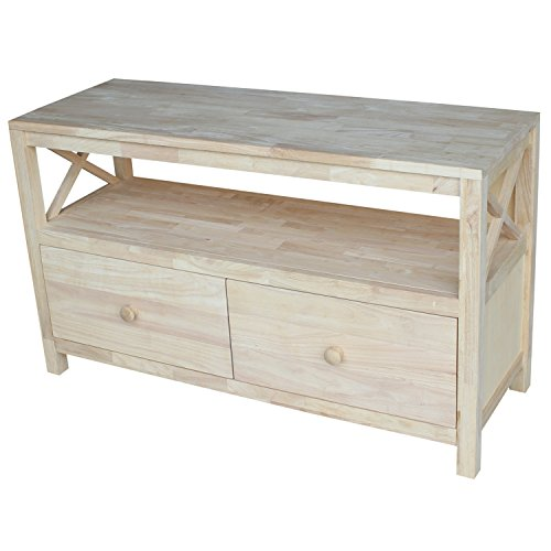 International Concepts TV Stand with X Sides by International Concepts
