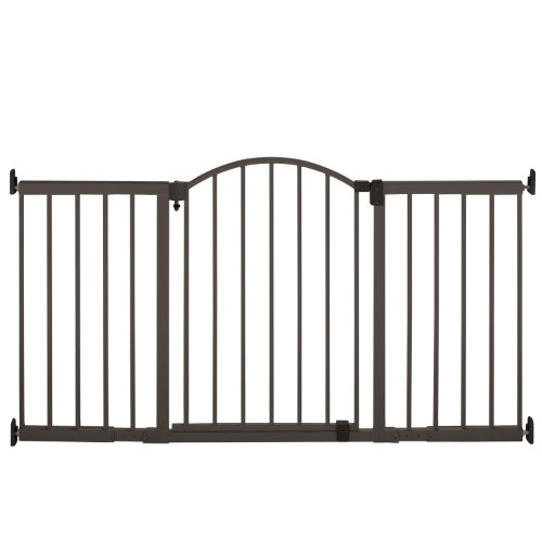Summer Infant Metal Expansion Gate, 6 Foot Wide Extra Tall - Pet Frame Door Decorative