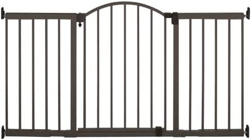 Summer Metal Expansion Gate, 6 Foot Wide Extra Tall Walk-Thru