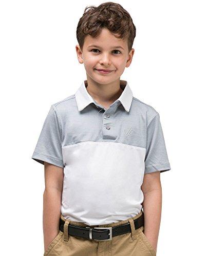 Tennis Shirt Dri Fit (Jolt Gear Youth Boys Golf Dri Fit Polo Shirt, Breathable Performance Fit)