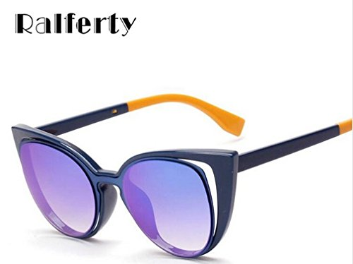 Ralferty 2017 Luxury Brand Designer Cat Eye - Sunglasses 2017 Luxury
