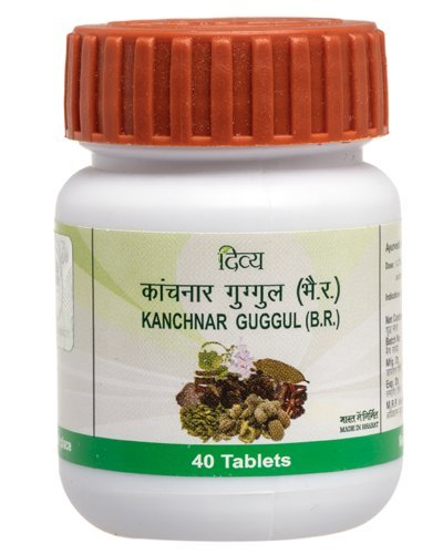 5 x Patanjali Kanchnar Guggul 40 Tablets Pack of 5