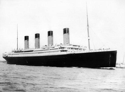RMS Titanic Departing Southampton April 10 1912 Photo Great Historic Ships Photos -