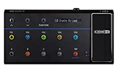 FBV 3 is an advanced foot controller that gives you complete control over Firehawk 1500, AMPLIFi, Spider, and other Line 6 amps and effects. Five FX footswitches with assignable color LEDs plus six single color footswitches help you easily ke...