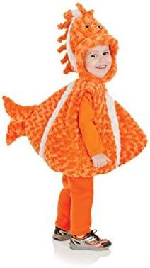 Underwraps Costumes Disfraz peluche niños pez payaso talla 2/4 ...