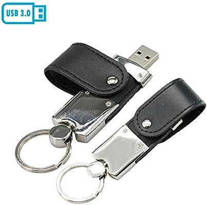 Amazon.com: Llavero de piel sintética USB 3.0 con memoria ...