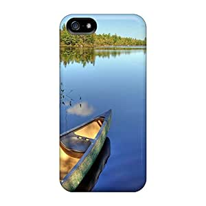 Pretty MBu12791VYBD Iphone 5/5s Cases Covers/ Lake Geier Tranquility Series High Quality Cases