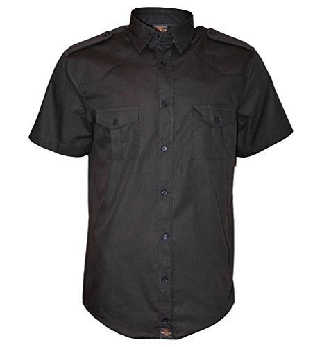Différentes Manches Les Fabriquée Noir 5xl Style En Pour Loisirs À S De Apparel® Europe Militaire Courtes Travailleur Chemise Rock Couleurs Américaine Au it Hommes qxw4I6IW1a