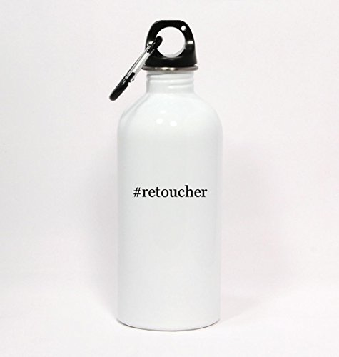 retoucher-hashtag-white-water-bottle-with-carabiner-20oz